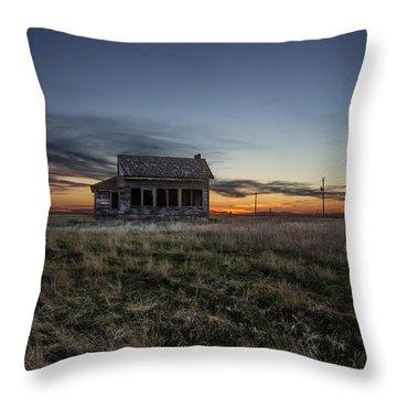 Prairie Sunset Throw Pillows
