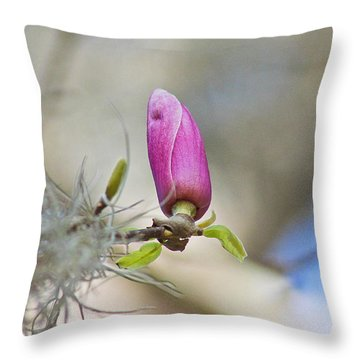 Little Lily Throw Pillow