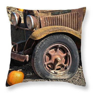 Throw Pillow featuring the photograph Little One by Michael Gordon