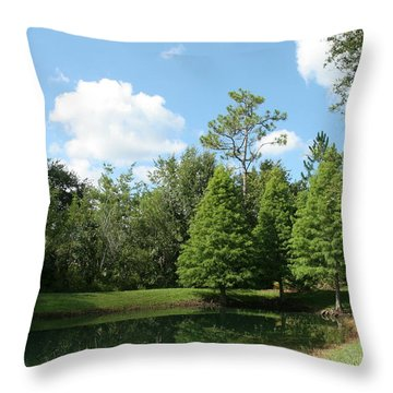 Little Pond Throw Pillow