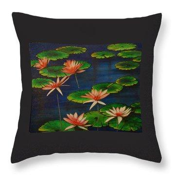 Little Pond Throw Pillow