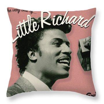 Little Richard -  The Very Best Of Throw Pillow