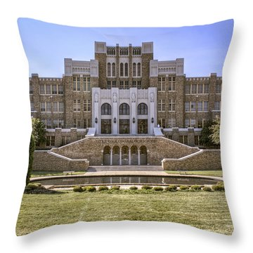 Little Rock Central High School Throw Pillow