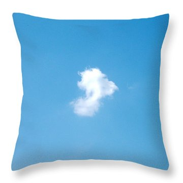 Little White Throw Pillow