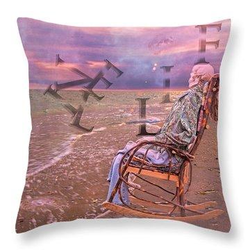 Live Life Throw Pillow