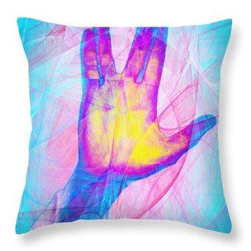 Live Long And Prosper 20150302v1 Throw Pillow