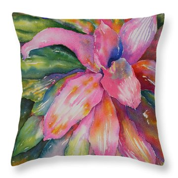 Live Out Loud Throw Pillow by Tara Moorman