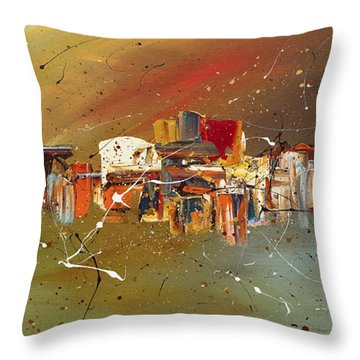 Live Well Throw Pillow