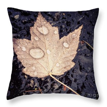 Live With Intention  Throw Pillow