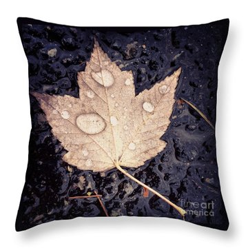 Live With Intention  Throw Pillow by Kerri Farley