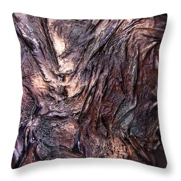 Living Bark Throw Pillow