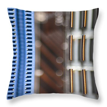 Living Digital Throw Pillow by Angelina Vick