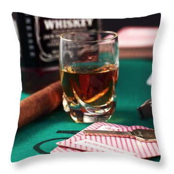 Living Large Throw Pillow by John Rizzuto