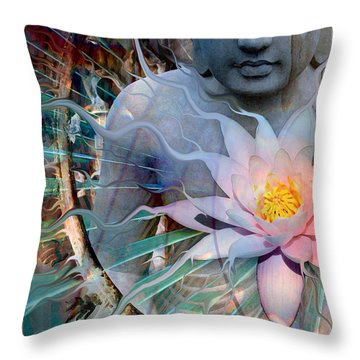Living Radiance Throw Pillow