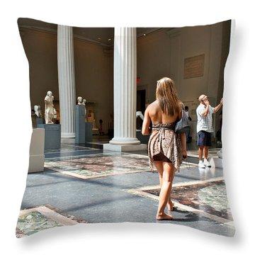 Living Sculpture...venus Throw Pillow