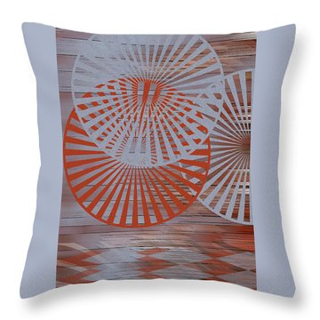 Living Spaces No 2 Throw Pillow by Ben and Raisa Gertsberg