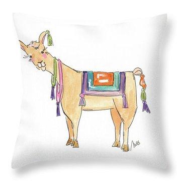 Llamas Throw Pillows