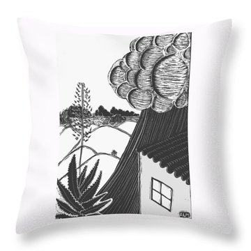 Lluvia Throw Pillow by Aurora Levins Morales