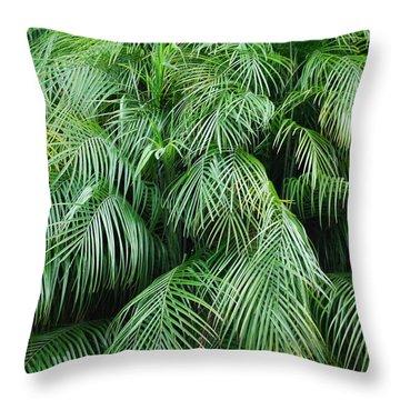 Lluvia De Hojas Throw Pillow