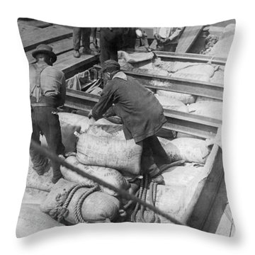 Loading Sugar For Europe Throw Pillow