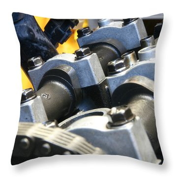 Lobes Throw Pillow by David S Reynolds