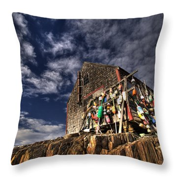 Lobstershack Throw Pillow