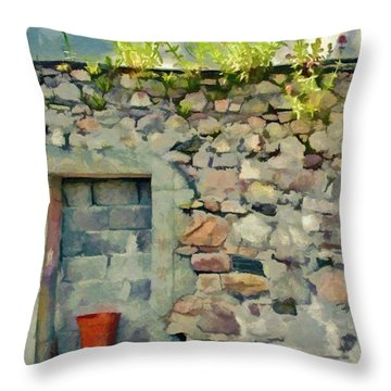 Location With A View Throw Pillow by Jeff Kolker