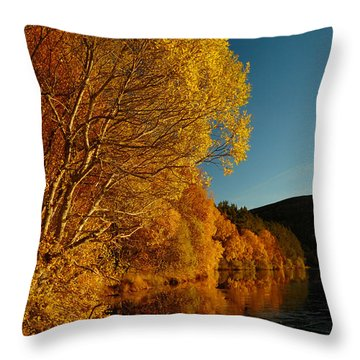 Loch Laide Throw Pillow