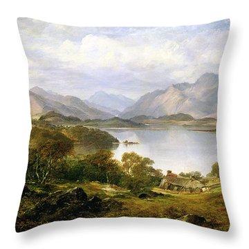 Loch Lomond, 1861 Throw Pillow