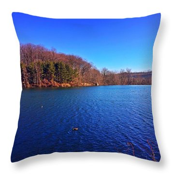 Loch Raven Throw Pillow