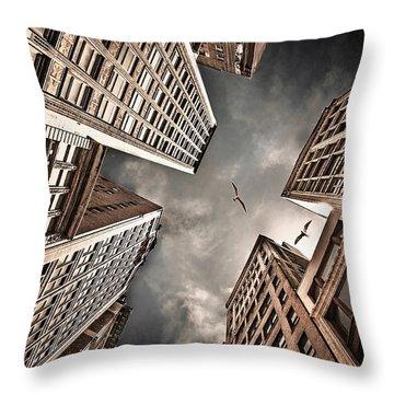 Perspective Throw Pillows