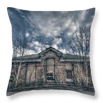 Locked Up Forever Throw Pillow