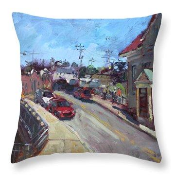 Lockport City Throw Pillow