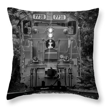 Locomotive 7738 Throw Pillow