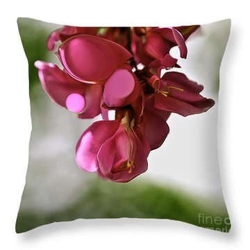 Locust Drops Throw Pillow