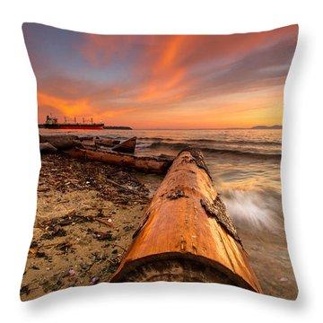 Login To Nature Throw Pillow by Eti Reid