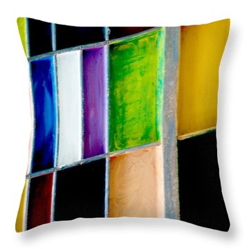Throw Pillow featuring the photograph Lolas Drawer by Gwyn Newcombe