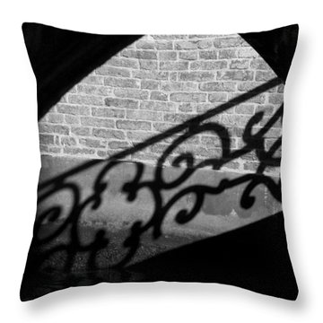 L'ombra - Venice Throw Pillow by Lisa Parrish