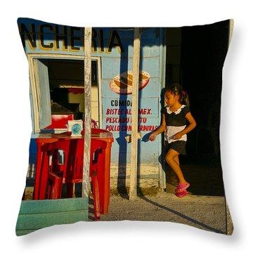 Loncheria Throw Pillow