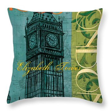 London Throw Pillows
