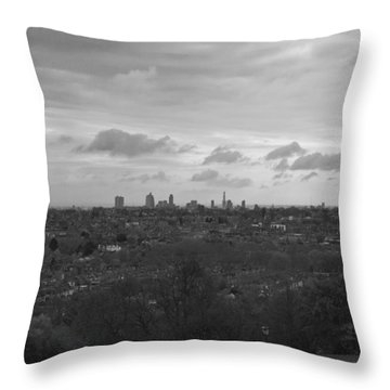 Throw Pillow featuring the photograph London City by Maj Seda