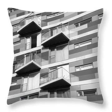 London Life Throw Pillow