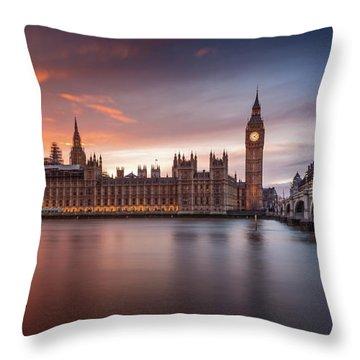 Parliament Throw Pillows