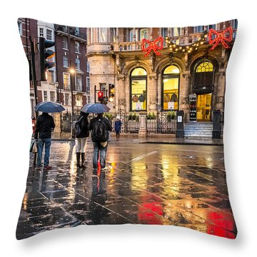 Reflections Of London Throw Pillow