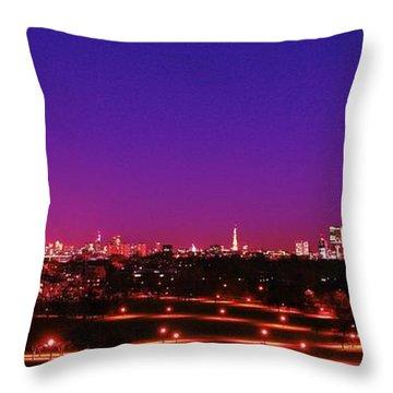 London View 1 Throw Pillow by Mariusz Czajkowski