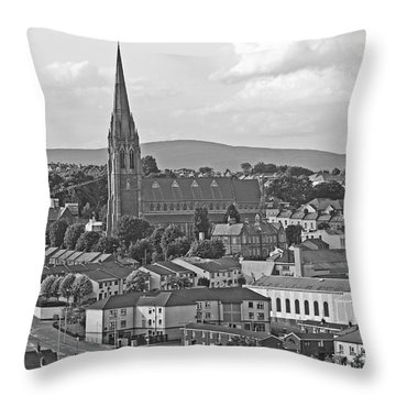 Londonderry Throw Pillow by Mary Carol Story