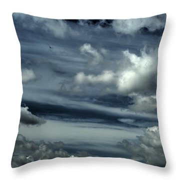 Throw Pillow featuring the photograph Lone And Free by Julis Simo