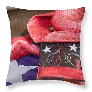 Lone Star Gal 2 Throw Pillow