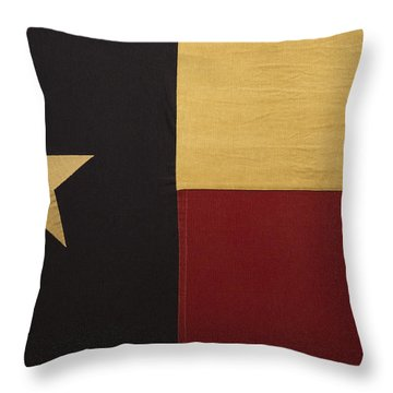 Lone Star Proud Throw Pillow