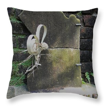 Lone Stone Throw Pillow